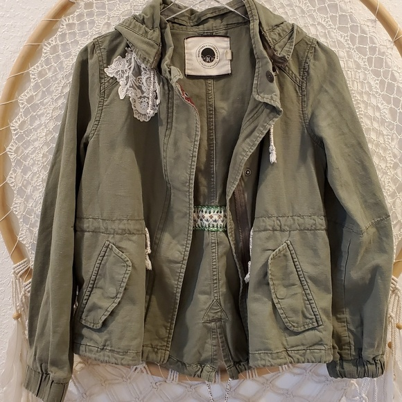 Anthropologie Jackets & Blazers - Anthro Daughters of Liberation Utility Jacket